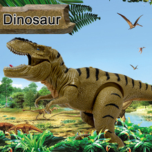 Tyrannosaurus rex model simulation plastic solid toy dinosaur toy tyrannosaurus hardware delicate in the world