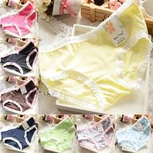 Buy New Cosy Sexy Women Girls Panties Underpants Cotton Briefs Cute Polka Dots Underwear Brief Candy Color Knickers