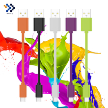 2 Pack WMZ Micro USB Cable Fast Charging Cables Data Sync Andriod Phone 12CM TPE Colorful USB Cable for Samsung GALAXY S6 LG V10