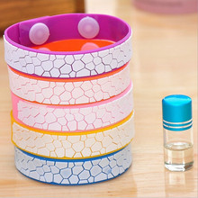 1 PC Water Cube Anti-mosquito Bracelets Kids Children Adults Mosquito Repellent Bracelet Pest Control KO972411(China)