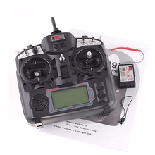 FlySky 2.4G FS-TH9X-B 9CH Radio Control Remote System Transmitter Receiver for RC Helicopter Airplane Multicopter(China)