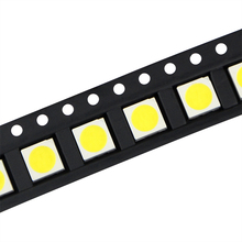 100pcs 100% Original Epistar SMD 5050 LED Lamp Chip Diode LEDs for Led Corn Bulb Spot light Led Strip Light White / Warm White