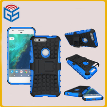 Smart Gadget Soft TPU Hard PC Kickstand Case Hybrid Cover For Google Pixl 5.0 For HTC Nexus Sailfish