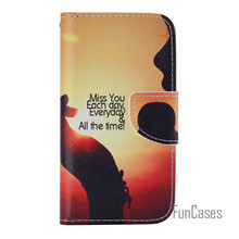 For Samsung Galaxy J1 2015 J100 J100F PU Leather Wallet Flip Case Cover with Card Slot Coque for Samsung J1 2015 Phone Funda