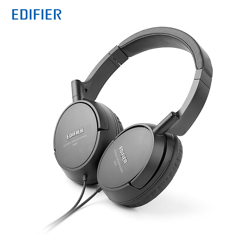 Edifier H840 Headphones Noise Cancelling Stereo Monitor HIFI Headset Ergonomic Ear Pads Headphone 3.5mm AUX for Phones Tablet PC<br>