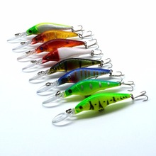 one pcs 9cm/3.54in 6.5g/0.12oz Lure fishing tackle lure bionic bait lure fishing lure minnow crankbait trout tackle
