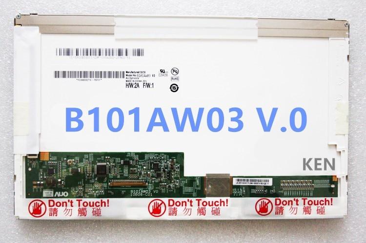 The Original LTN101NT02 N101L6-L02/01 LP101WSA B101AW03 V.0/1 For HP Mini 210 110 200 5103 5101 5102 311 2140 1065TU LCD screens<br>