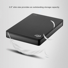 "Seagate External HDD Disk 1TB Backup Plus Slim USB 3.0 2.5"" Portable External Hard Drive Disk for PC Desktop Laptop STDR1000301"