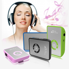 Big promotion Mirror Portable MP3 player Mini Clip MP3 Player waterproof sport mp3 music player walkman lettore mp3(China)
