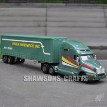 1:68 DIECAST VEHICLE MODEL TOYS KENWORTH T2000 CONTAINER TRUCK REPLICA COLLECTION