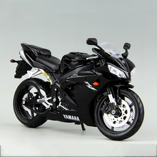 YMH YZF R1 Black motorcycle model 1:12 scale Metal Diecast Models Motor Bike Miniature Race Toy For Gift Collection