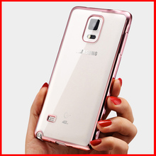 case for samsung galaxy note 4 note4 soft clear tpu original transparent ultra thin back cover brand mobile phone cases cell new