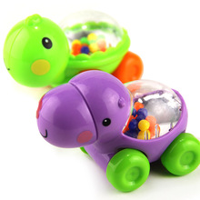 Cute Beautiful Toy Modelling Hippo Tortoise Animal slide Small Cart Toy,Quality Assurance,Manufactor Direct Selling