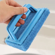 1PC cleaning tool handle cleaning brush magic sponge brush kitchen bathroom window smoke lampblack machine cleaner OK 0165