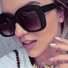 CCSPACE Good Quality (See Life Photos) Large Frame Women Square Sunglasses Brand Designer Glasses Fashion Eyewear C'45033(China)