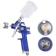 ZFE Airbrush Kit Air Spray Gun Touch Up Paint Sprayer Gravity Feed Air Brush Set 0.8mm Nozzle Auto Car Detail Painting HVLP