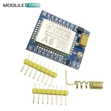 A6 Mini GSM GPRS Development Quad-band Board SMS Audio Board 5V Replace SIM800L AT TCP IP Command Digital Audio Speech Coding(China)