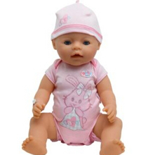 New Fashion Doll Accessories,leisure jumpsuits Doll Clothes  Wear fit 43cm Baby Born zapf