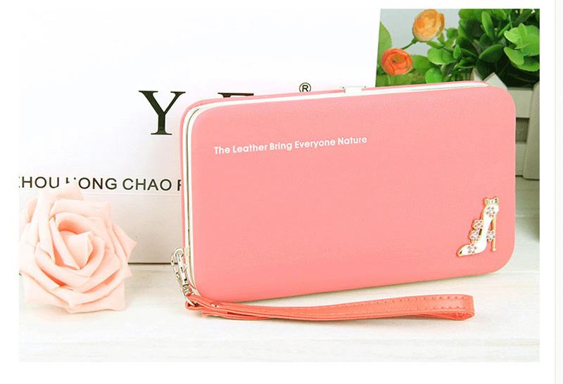 Leather-Wallet-Women-Purse-Phone-Bag-Case-(19)
