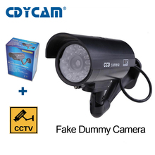 CDYCAM Fake Dummy Camera  CCTV Surveillance Camera Shop Home Security With LED Light Fake Camera Waterproof Outdoor Camera