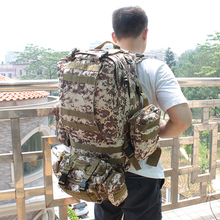 Brand AFCLT 600D 55L Outdoor sports big Camping Bag Hiking Climbing tactical backpack Multifunction Military Cycling Backpack(China)