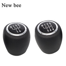 Newbee Car Styling 5 / 6 Speed Manual Gear Shift Knob Shifter Lever Pen Head for Chevrolet Chevy Cruze 2008 2009 2010 2011 2012(China)