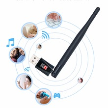 W53/RT5370 Hot Sale 150M Wireless WiFi Adapter Wifi Antenna Top Quality Computer Network Adapters Wifi Antena