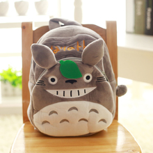 Cartoo Tonari no Totoro cos lovely Totoro Image Plush child birthday present Shoulders Cartoon backpack child baby bags
