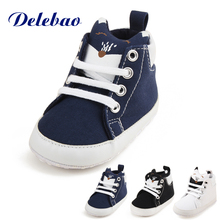 Delebao Baby Shoe & Socks Suit Pure Cotton Black And White Dot Soft Sole Infant Toddler First Walekers(China)