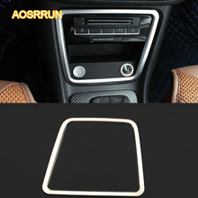 AOSRRUN Stainless steel Central store content cover decorative cover Cigarette lighter Car Accessories For Seat Alhambra MK2(China)