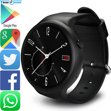 Time Owner I4 Plus Smart Watch Android 5.1 OS 1G RAM 16 ROM GPS Navigation Bluetooth Clock Support 3G WIFI Sport Mode Smartwatch