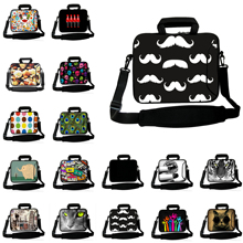 Neoprene 10 12 13 14 15 17 inch Laptop Messenger Carry Bag Notebook Handle Carry Briefcase Soft Cover Toshiba Acer Chuwi