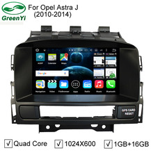 Quad Core Pure Android 5.1.1 Car DVD PC Video Player For Opel Astra J With GPS Bluetooth DVR 4G WiFi HD 1024*600 Pixel
