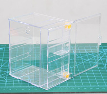 HOT high quality Transparent Dust cover display box cabinet action figure Toy Plexiglass Acrylic Collection model electronic pet(China)
