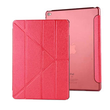 "Case for iPad 2 3 4 cool PU Leather Ultra Thin Light Weight Variable Stand Anti-dust Smart case for iPad 2 3 4 9.7""(China)"