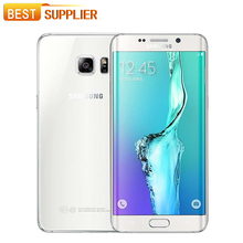 "Unlocked New Samsung Galaxy S6 Edge G9250 Smartphone 5.1"" Octa Core 3GB RAM 32GB ROM 16.0MP GPS Fingerprint Android 7.0 2600mAh(China)"