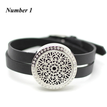 25mm 30mm twist top perfume bracelets 316l stainless steel aromatherapy locket bracelets oil diffuser bracelet with crystals