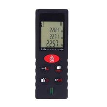 40m/131ft Mini Laser Rangefinder Handheld Digital Distance Meter High Accurate Range Finder Area Volume Measurement Level Bubble(China)