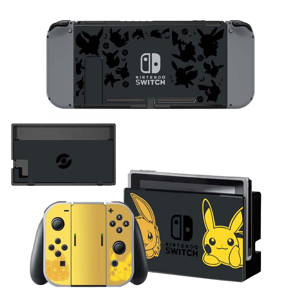Skin-Sticker-Set Protective-Skins Controller Console Ns-Switch Joy-Con Vinyl Pokemom title=