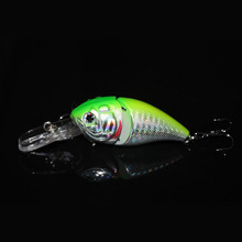 Mr. Fish 1PCS 14G 8.5CM Fishing Lures Minnow Crank Bait Crankbait Bass Tackle Treble Hook bait wobblers fishing japan