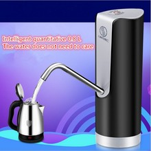 Electric Water Bottle Pump Automatic Purified Water Faucet Suction Unit Water Dispenser with Rechargeable Battery Kitchen Tools