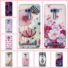 for Asus ZenFone 2 Laser ZE500KL 5.0 inch Silicon Case Fashion Case For ASUS Zenfone ZE500KL Soft TPU Phone Cases Covers