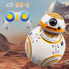 MAYLEGO Save The Peng Free Shipping Star Wars BB-8 Remote Robot Update BB8 Smart Robot Control Sounds RC Ball Boy Toy Gift Child