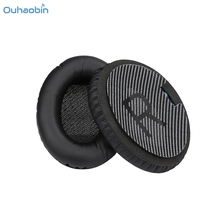 Ouhaobin Popular 1 Pair Replace Ear Pads Cushions Leather for Bose QuietComfort QC35 Headphones Black Ear Covers Earpads Sep1(China)