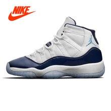 Original Nouvelle Arrivée Authentique Nike Air Jordan 11 Rétro Gagner Comme  96 Hommes de Basket-Ball Chaussures de Sport AJ11 Ba.