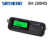 Original Sathero Pocket Digital Satellite Finder Meter SH-100HD HD DVBS2 USB 2.0 Signal SH-100 Digital Sat Finder HD