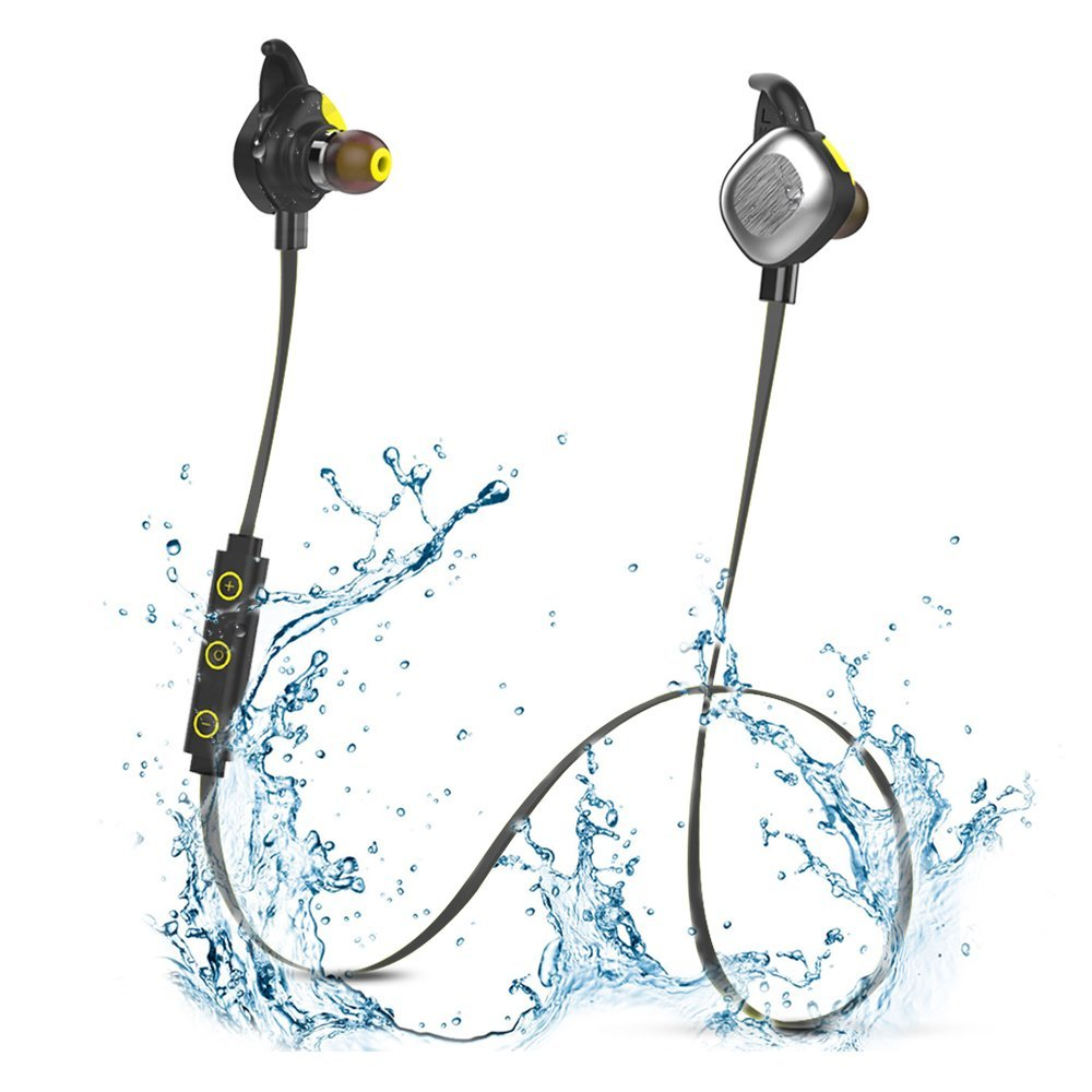 Morul U5 PLUS Magnetic Sports running gym Waterproof Ipx7 Bluetooth In-ear Headphones with Mic<br>