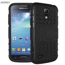 For Samsung Galaxy S4 Case Heavy Duty Armor Shockproof Hybrid Hard Rugged Rubber Phone Case Cover For Samsung S4 i9500 i337 <*