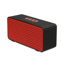 Promotion cube square Bluetooth speaker wireless woofer Radio FM enceinte bluetooth portable puissant caixa de som alto falante