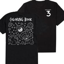 Fashion CHANCE el rapero música rock band t-shirt negro gris hip hop rap  ácido libro para colorear imprimir hombres camiseta cam. 9c36373e72e